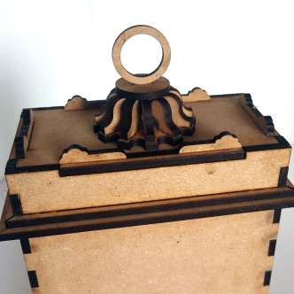 Mantle Clock MDF Kit (8)