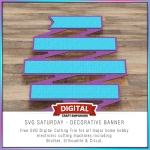 SVG Saturday - Decorative Banner Preview