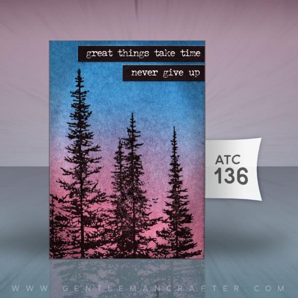 Artist Trading Card 136 by John Bloodworth Gentleman Crafter S
