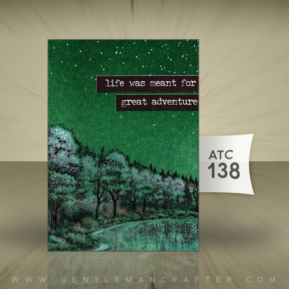 Artist Trading Card 138 by John Bloodworth Gentleman Crafter