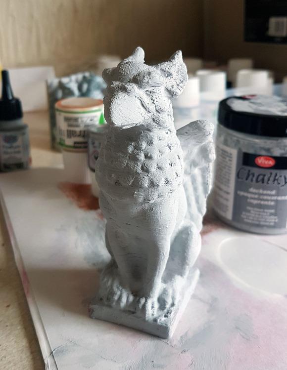 Griffin Sculpture 3D Print by John Bloodworth Gentleman Crafter (2)