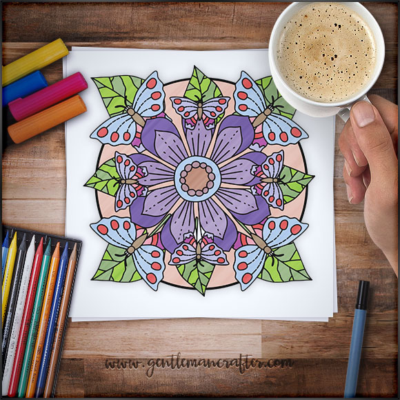 Mandala Monday 67 Free Download To Colour In