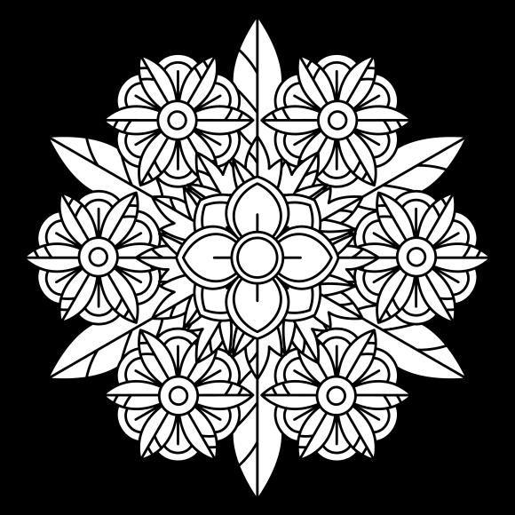 Mandala Monday 68 Free Colouring Sheet To Download-01