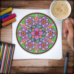 Mandala Monday 68 Free Colouring Sheet To Download Preview