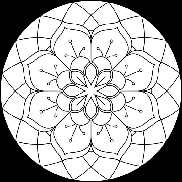 Mandala Monday 71 Free Colouring Sheet To Download