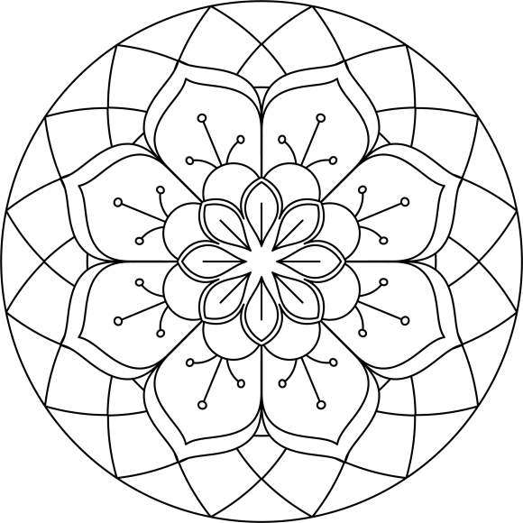 Mandala Monday 71 Free Colouring Sheet To Download