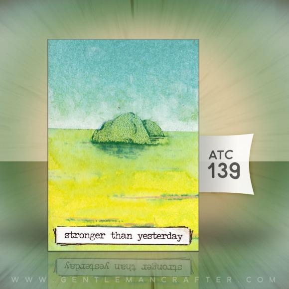 Artist Trading Card 139 by John Bloodworth Gentleman Crafter