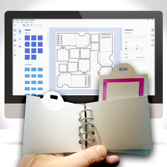 Creating A Split Ring Tag Book In Canvas Workspace GC