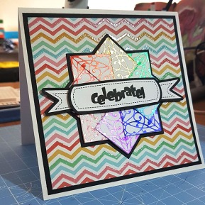 Fabulously Foiled Greetings Card by John Bloodworth Gentleman Crafter (4)