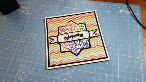 Fabulously Foiled Greetings Card by John Bloodworth Gentleman Crafter (6)