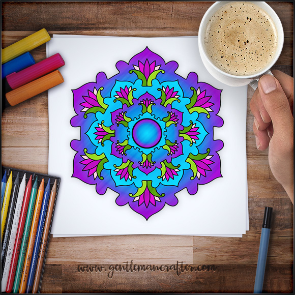Mandala Monday 70 Free Download To Print And Colour In