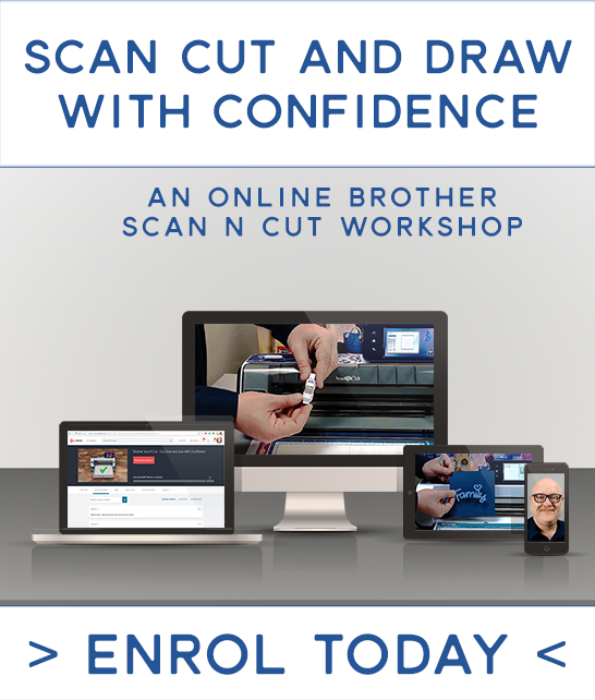Udemy Brother Scan N Cut Online Workshop
