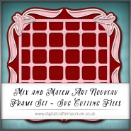 2. Mix and Match Art Nouveau Frame Set Preview