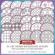25 Line Drawn Patterns Preview Image