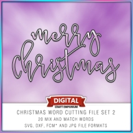 Christmas Word Pack 2 Preview