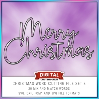 Christmas Word Pack 3 Preview