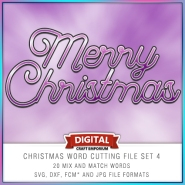 Christmas Word Pack 4 Preview