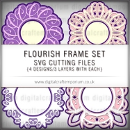 Flourish Frame Set Preview
