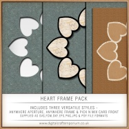 Heart Frame Pack Preview