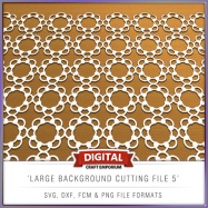 Large Background Cutting File 5 - Preview