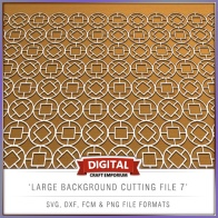 Large Background Cutting File 7 - Preview