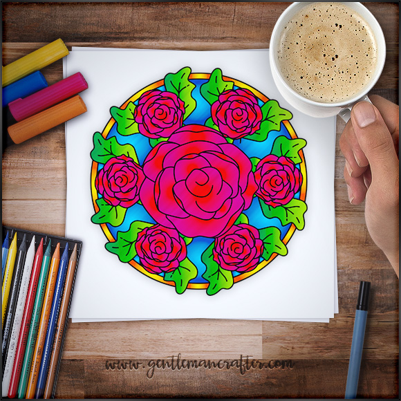 Mandala Monday 72 Free Download Sheet To Colour In