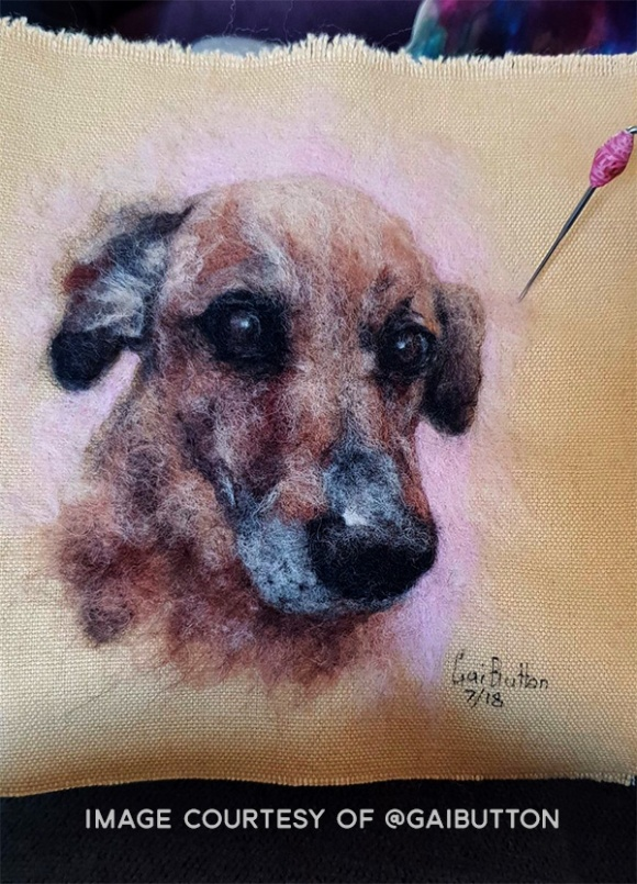 Needle Felted Pet Portrait by Gai Button (1)