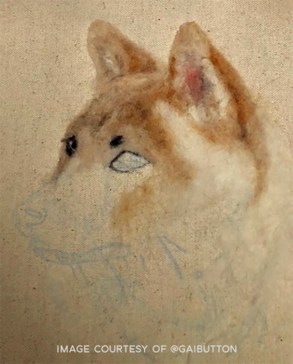 Needle Felted Pet Portrait by Gai Button (3)