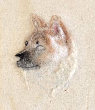 Needle Felted Pet Portrait by Gai Button (4)