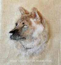 Needle Felted Pet Portrait by Gai Button (6)Needle Felted Pet Portrait by Gai Button (6)