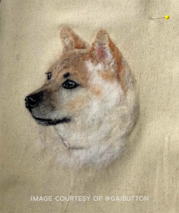 Needle Felted Pet Portrait by Gai Button (8)