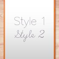 Single Line Font - Alphabet Style Examples