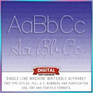 Single Line Font Preview