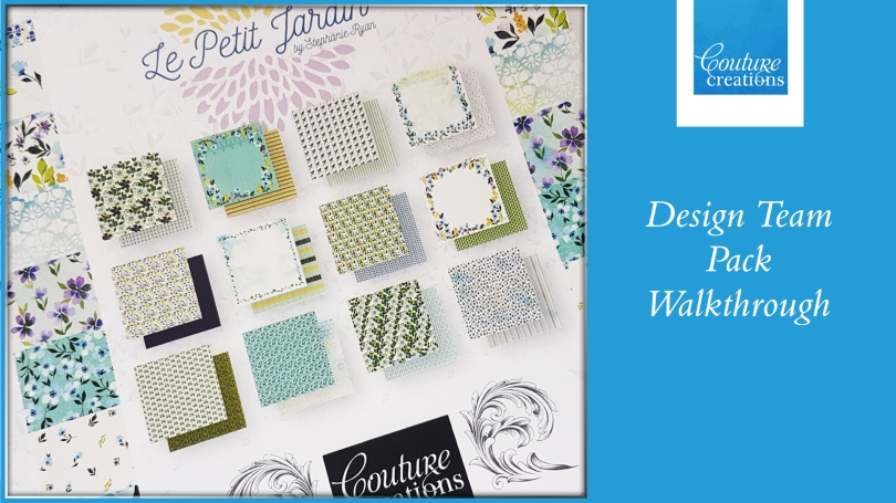 Couture Creations DT Video Le Petite Jardin Walkthrough