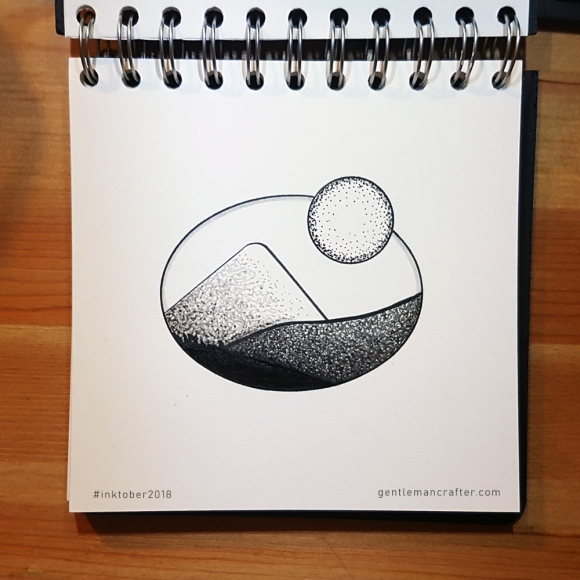 Inktober 1 by John Bloodworth Gentleman Crafter