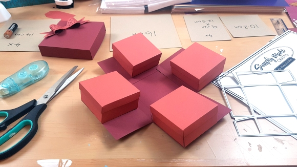 Exploding Gift Box from Simply Made Crafts by Helen Griffin featurting John Bloodworth Gentleman Crafter