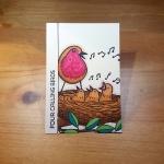 4 Calling Birds Artist Trading Card by John Bloodworth Gentleman Crafter