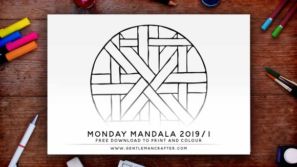 Mandala Monday Hand Drawn Mandala To Download And Colour Preview 2019 1