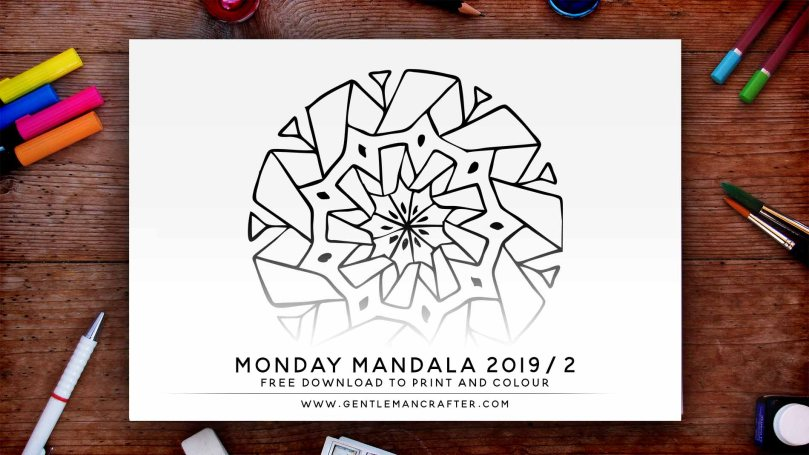 Mandala Monday Hand Drawn Mandala To Download And Colour Preview 2019 2