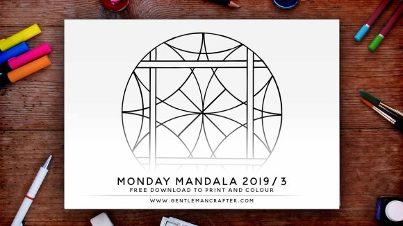 Mandala Monday Hand Drawn Mandala To Download And Colour Preview 2019 3