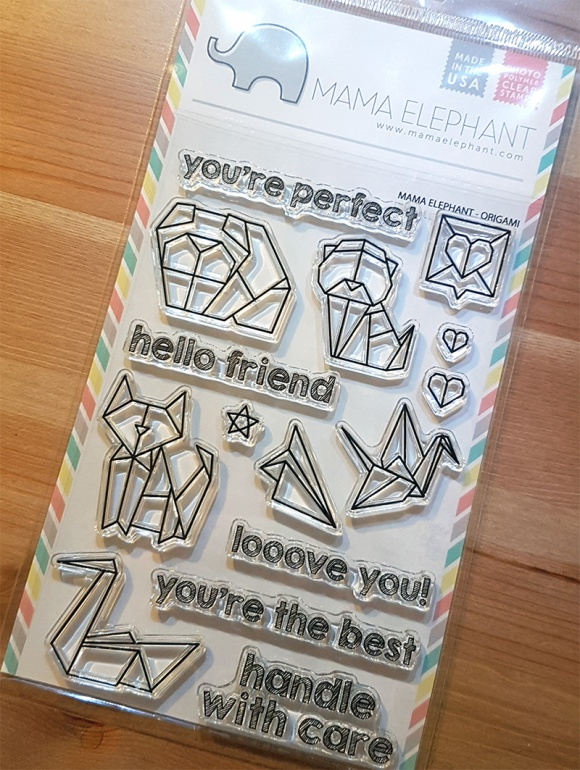 Greetings Card Mama Elephant Origami John Bloodworth Gentleman Crafter (1)