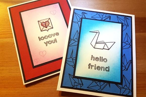 Greetings Card Mama Elephant Origami John Bloodworth Gentleman Crafter (5)