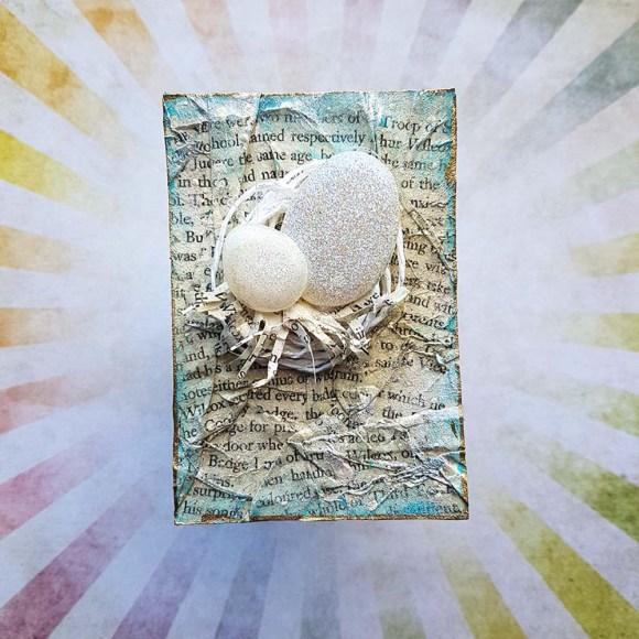 New Beginnings Mixed Media Artist Trading Card by John Bloodworth Gentleman Crafter (1)