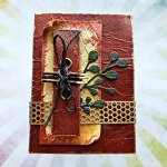 These Are A Few Of My Favourite Things Mixed Media ATC by John Bloodworth Gentleman Crafter (1)