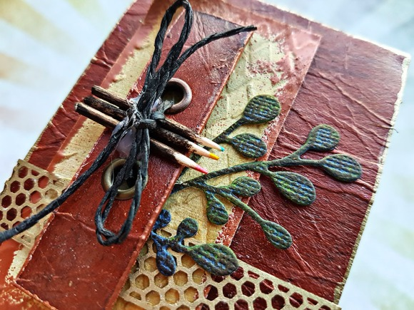 These Are A Few Of My Favourite Things Mixed Media ATC by John Bloodworth Gentleman Crafter (4)