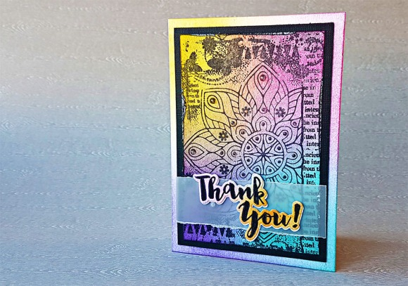 Magical Mandala Hand Stamped Greeting Card by John Bloodworth Gentleman Crafter (11)Magical Mandala Hand Stamped Greeting Card by John Bloodworth Gentleman Crafter (11)