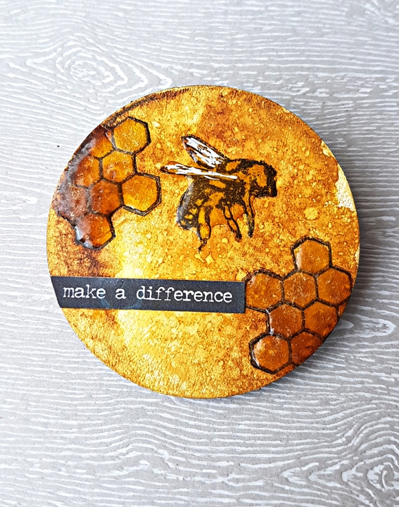 Make A Difference Artist Trading Coin (1)