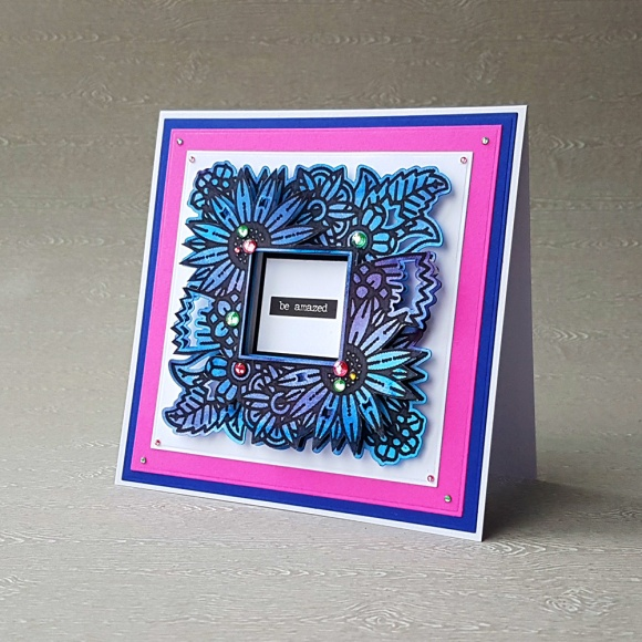 Floral Frame John Bloodworth Gentleman Crafter Couture Creations