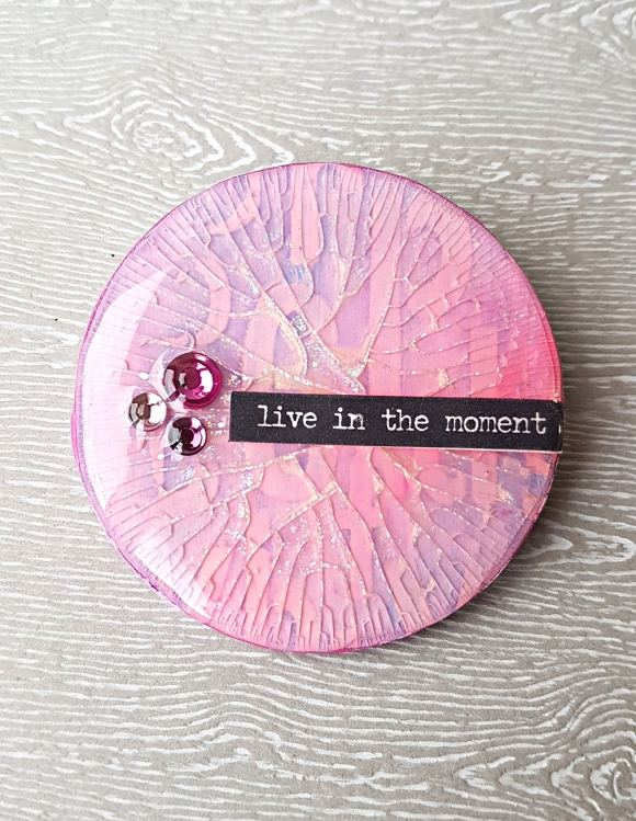Live In The Moment Artist Trading Coin (1)