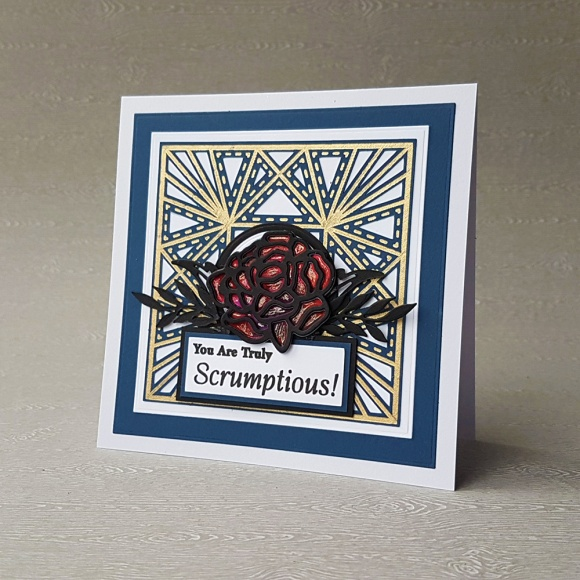 Couture Creations John Bloodworth Cut Foil and Emboss Die Preview Square Starburst